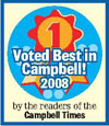 Voted Best Fitness Program in Campbell and Best Personal Trainer in Campbell